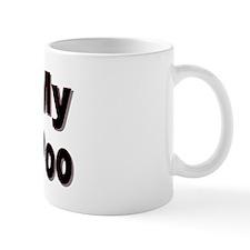 I Love My Yorkie-Poo Small Mugs