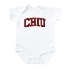 CHIU Design Infant Bodysuit