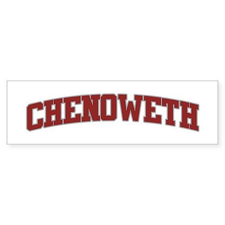 CHENOWETH Design Bumper Sticker