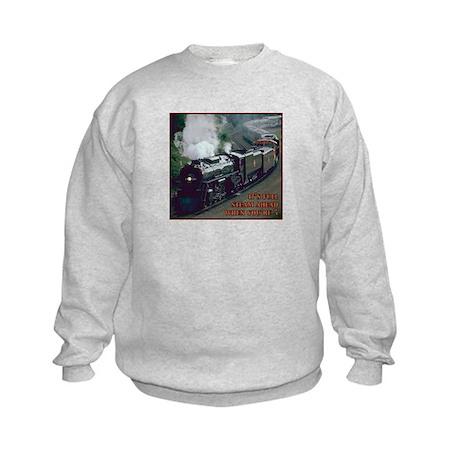Train 5th Birthday Kids Sweatshirt