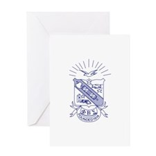 Sigma Shield Greeting Cards