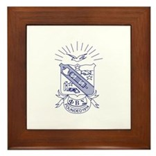 Cute Beta sigma phi Framed Tile
