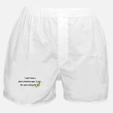 Attention Span Butterfly Boxer Shorts