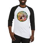 XmasMusic2MC/Basset Hound Baseball Jersey