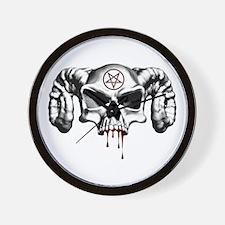 Demon Skull Wall Clock