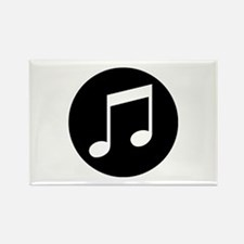 Music Notes Rectangle Magnet