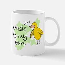Musical Canary Mug