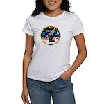 XmasSunrise/ Skye Terrier Women's T-Shirt