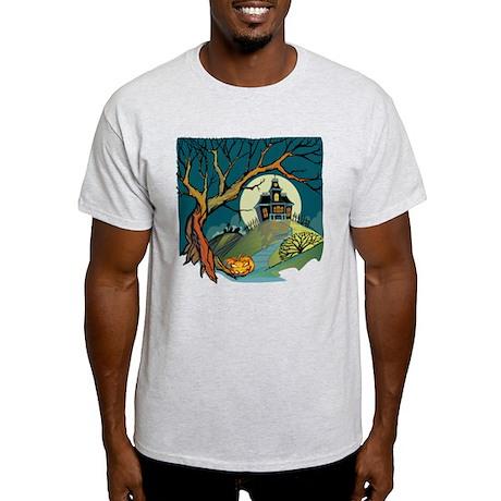 Spooky Haunted House Light T-Shirt
