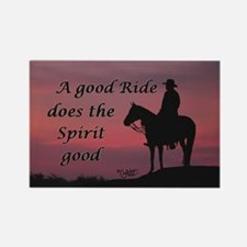 A good ride - Rectangle Magnet