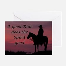 A good ride - Greeting Card