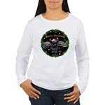 XmasMusic2/Skye Terrier Women's Long Sleeve T-Shir