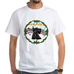 XmasMusic1/Scottie White T-Shirt