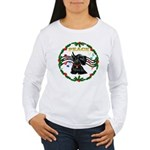 XmasMusic1/Scottie Women's Long Sleeve T-Shirt