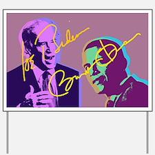 Obama Biden 08 Yard Sign