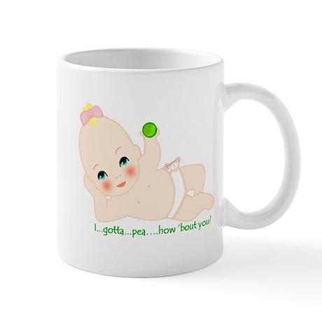 gotta pea center mug