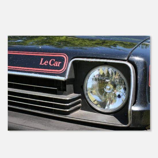 LeCar Front Postcards (Package of 8)