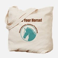 Funny Horse charity Tote Bag