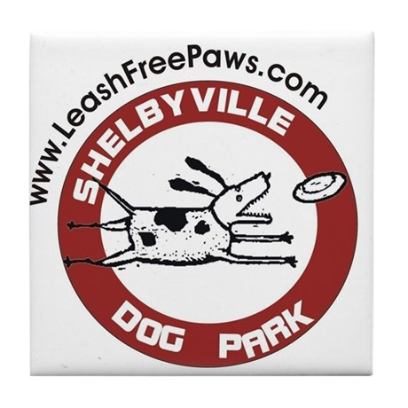 Dog Park Tile Coaster