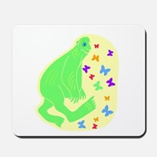 big green oaf Mousepad