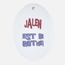 Jalen - Best Big Brother Oval Ornament