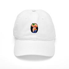 Mushroom Man Baseball Cap