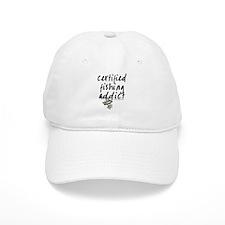 Certified Fishing Addict Baseball Cap