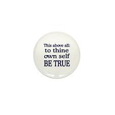 Be True Mini Button (10 pack)