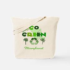Go Green Maryland Reusable Tote Bag