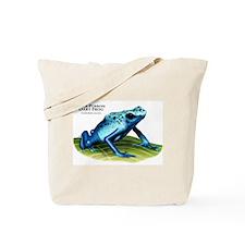 Blue Poison Dart Frog Tote Bag