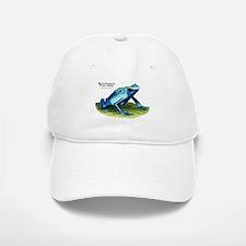Blue Poison Dart Frog Baseball Baseball Cap