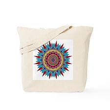 Living Turquoise Magic Circle Tote Bag