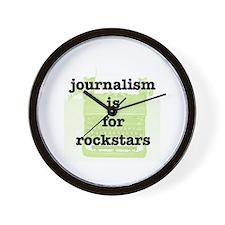 Journo Rock Wall Clock