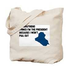 Won't Pull Out Tote Bag
