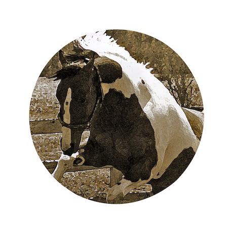 """Wild 3.5"""" Button (100 pack)"""