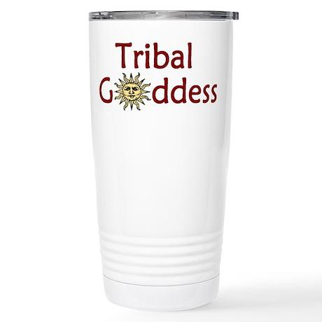 Tribal Goddess Stainless Steel Travel Mug
