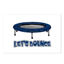 Let's Bounce Trampoline Postcards (Package of 8)