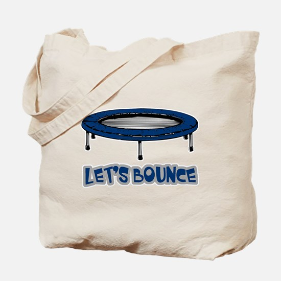 Let's Bounce Trampoline Tote Bag