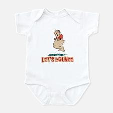 Let's Bounce Potato Sack (race) Infant Bodysuit