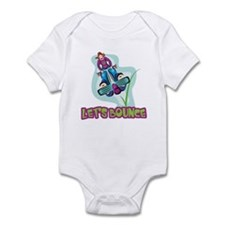 Let's Bounce Pogo Stick Infant Bodysuit