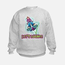 Let's Bounce Pogo Stick Sweatshirt