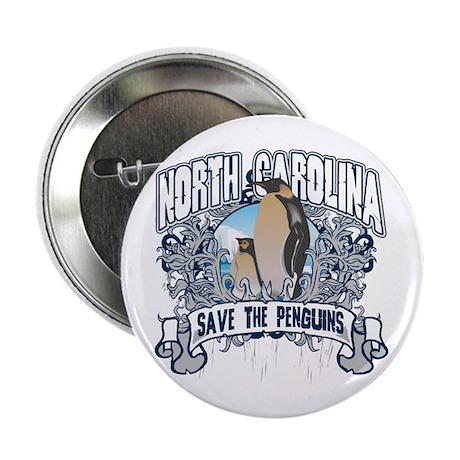 "Save the Penguin North Carolina 2.25"" Button (10 p"
