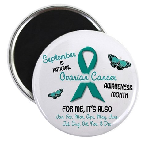 Ovarian Cancer Awareness Month 2.1 Magnet