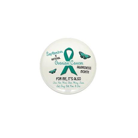 Ovarian Cancer Awareness Month 2.1 Mini Button