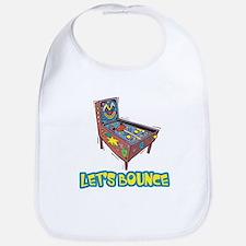Let's Bounce Pinball Machine Bib