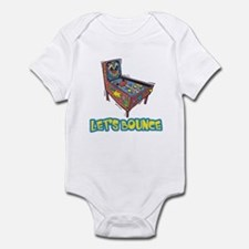 Let's Bounce Pinball Machine Infant Bodysuit