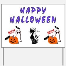 Halloween Boo Friends Yard Sign