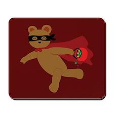 Masked Bear Mousepad