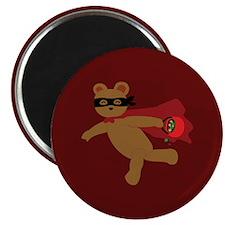 Masked Bear Magnet
