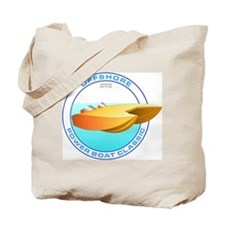OFFSHORE POWERBOAT GRAPHIC TOTE BAG